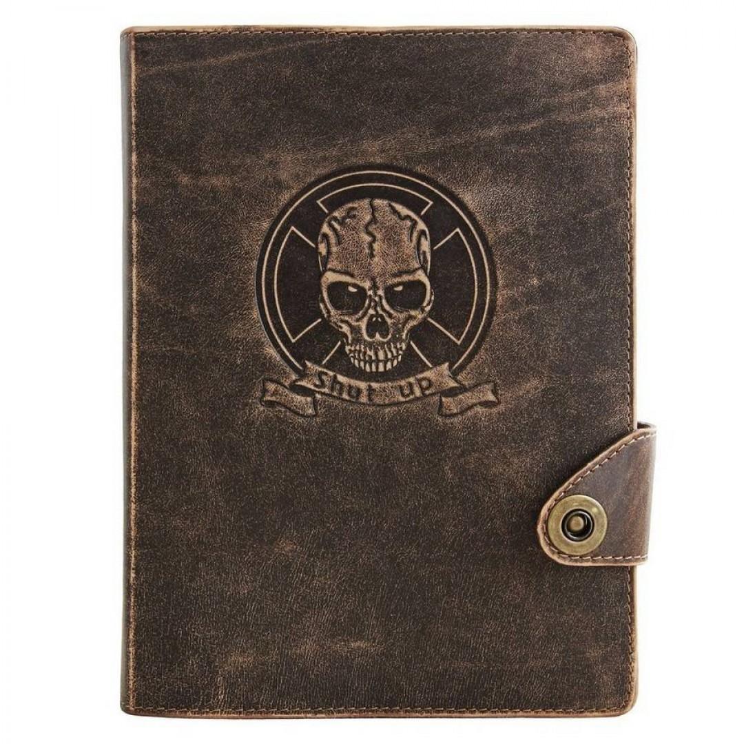 Кожаный блокнот ручной работы Оптимус Коричневый А5