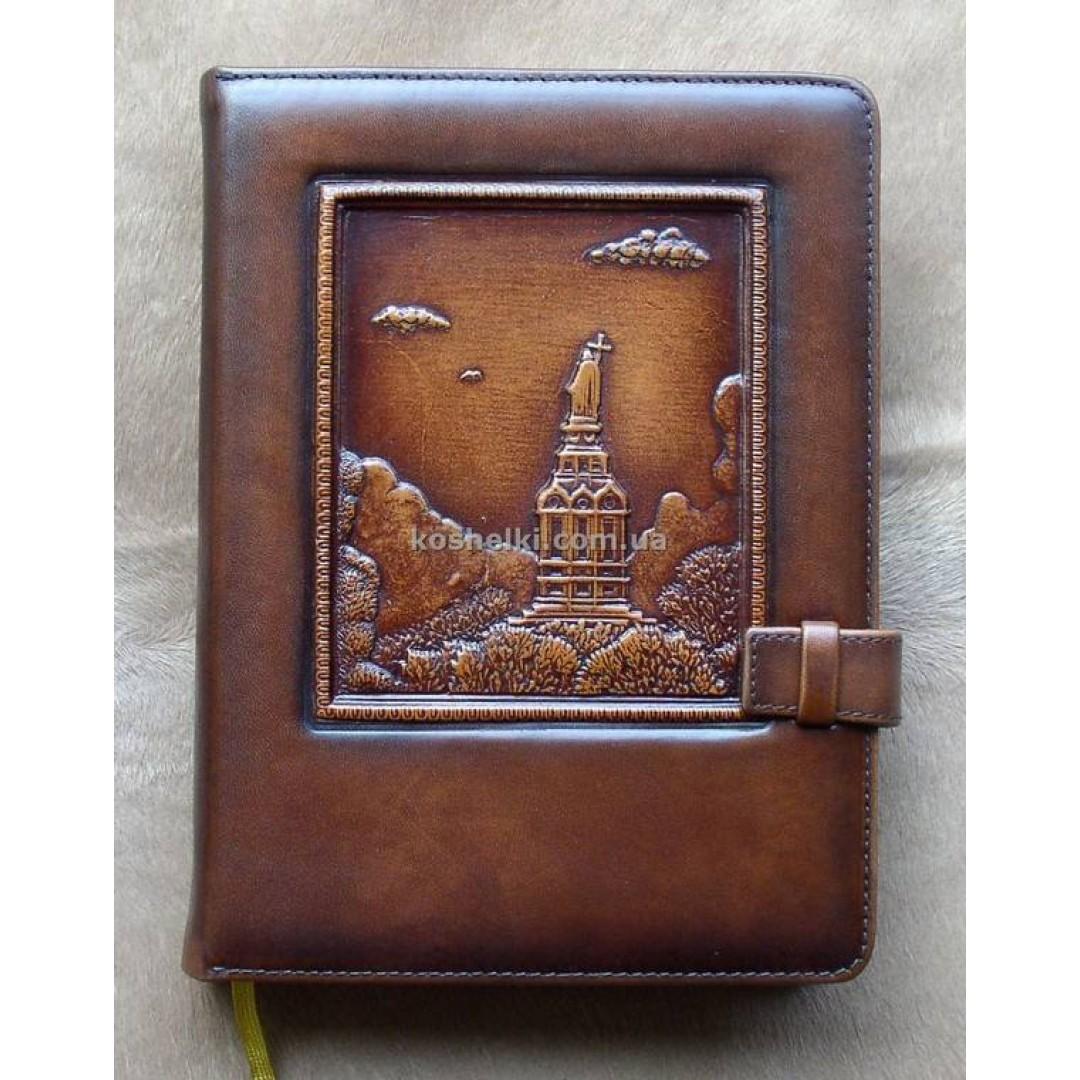 Шкіряний щоденник Володимирська гірка А5
